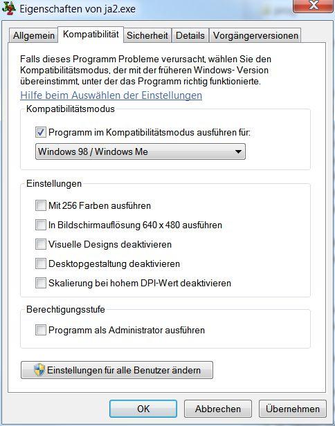 ausführen windows 7